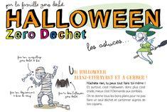 Un Halloween Zéro Déchet Halloween, Zombies, Harry Potter, Comic Books, Party, Images, Deco, Search, Parties