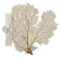 Coral Placemat - Set of 4 - Gold | Table-linens | Tabletop-and-bar | Z Gallerie