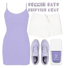 """""""summer days drifting away..."""" by j-n-a ❤ liked on Polyvore featuring Max Studio, BKE and NIKE"""