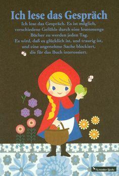 Cute Little Red Riding Hood Postcard