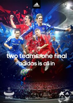two teams. one final. bayern munich vs chelsea fc