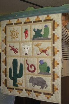 Southwest quilt for Lisa
