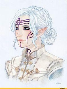 Dragon Age, fandom, Lavellan, Inquisitor (DA), DA characters, DAI, Needapotion, Lowenael
