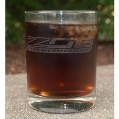 Supercharged Z06 Short Beverage Glass