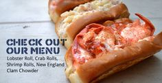 Eat at Luke's Lobsters - Maine-style rolls (the lobster is chilled, served atop a buttered, toasted bun, with a swipe of mayo).  Many locations in Portland, ME.