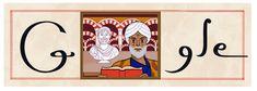 200 aniversario del nacimiento de Tarás Shevchenko (nacido en 1814) #GoogleDoodle