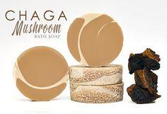Chaga Mushroom cold processed handmade soap