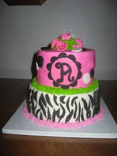 Surprise 2nd Birthday Cake