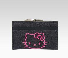 Hello Kitty Black Glitterama Wallet