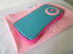 Baby wipe Case and Changing Pad by BarnofColors on Etsy, $25.00