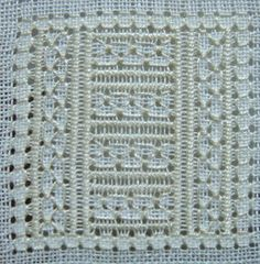 Hardanger Embroidery 2016 SAL Pulled Thread Embroidery Pattern Instructions Anchor your thread down to the right (Under the four-sided-stitch). Hardanger Embroidery, Hand Embroidery Stitches, Learn Embroidery, Crochet Stitches Patterns, White Embroidery, Embroidery Techniques, Embroidery Patterns, Stitch Patterns, Drawn Thread