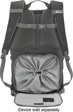 198a6ce7b4 Best Buy: Lowepro Photo Hatchback 22L Camera Backpack Slate Gray LP36434