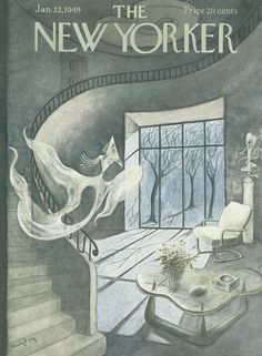 The New Yorker - Saturday, January 22, 1949 - Issue # 1249 - Vol. 24 - N° 48 - Cover by : Mary Petty