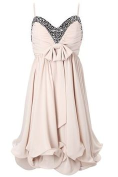 Cute for rehearsal dinner! LOVE this dress!  They have in Grey to so Bridesmaids could possible wear, an idea...