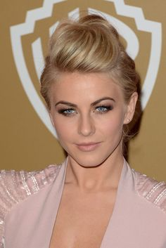 Julianne Hough Hair: Pompadour Updo
