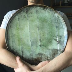 Prized possession from Ceramic Art London - nice show and couldn't leave without this plate by Akiko Hirai. Such a sweet, modest person too.