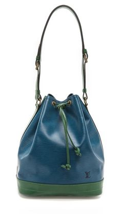 What Goes Around Comes Around Louis Vuitton Colorblocked Noe Bucket Bag