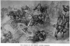 Alexander the Great's victory at the Battle of Gaugamela foreshadowed the end of one of his most prized opponents and the once great Achaemenid Empire. Battle Of Gaugamela, Tomb Of Cyrus, Darius Iii, Alexander Of Macedon, Persian Warrior, Alexandre Le Grand, Cyrus The Great, Warrior Drawing, Achaemenid