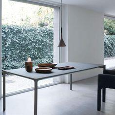 Boiacca Concrete Dining Table | Kristalia | AmbienteDirect.com