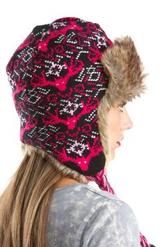 Women's Hats by Girls with Guns® Earflap Beanie, Acquired Taste, Girl Beanie, Country Girls, Hats For Women, Winter Hats, Guns, Final Sale, My Style