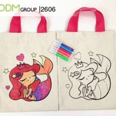 Tired of the usual promotional gifts items for kids? Worry not, these custom coloring bags will surely bring color to your brand. These bags are of high quality and fun to use. Read entire info to learn more! #promotional_gifts_for_kids Promotional Bags, Gifts For Kids, Tired, Coloring, Reusable Tote Bags, Learning, Fun, Presents For Kids, Gifts For Children