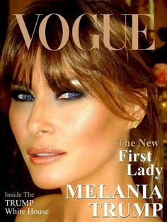 OUR FIRST LADY~ { MELANIA TRUMP }