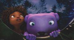 My favorite animation movie DreamWorks Home