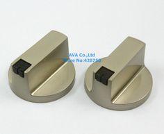 4 Unidades de Cocina Gama Estufa de Gas Quemador de Metal Perilla Del Interruptor de Reemplazo 6mm Agujero