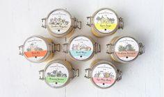 Charleston Soap Chef // Packaging by Nudge Jam Packaging, Brand Packaging, Packaging Design, Label Design, Graphic Design, Web Design Studio, Jar Labels, Charleston, Design Inspiration