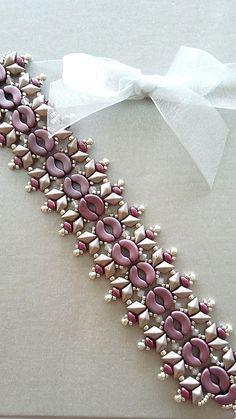 tutoriel pas à pas du bracelet Victor : Bracelet par perles-des-caraibes