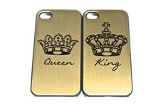 the king and queen phone case iPhone 5 s c by theprintedsurface, $25.00