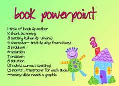 Ppt book report