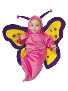 Butterfly Infant for Toddler Costume - Infant/Toddler Bee/Bug/Butterfly Halloween Costumes