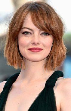 O novo cabelo curto da Emma Stone | Just Lia