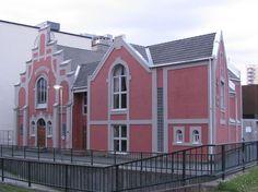 Baptist church in Drammen, built in 1905, Norway