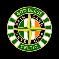 God Bless Celtic Fc, Retro, Irish, Blessed, Football, God, Stoner, Patches, Magick