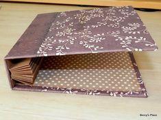 créer la couverture et l'accordéon intérieur : reste à coller les apges