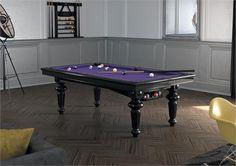 The Billards Montfort Ile de France Black Pool Table, part of our luxury pool tables range. Pool Table Cloth, Pool Table Dining Table, Glass Table, Pool Tables, Pool Table Sizes, Square Tables, Cool Pools, Solid Oak, Teak