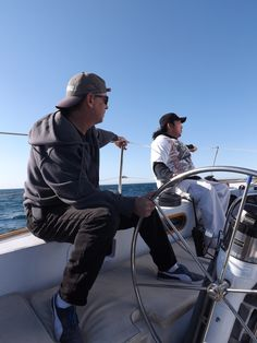 Riding The Rail while sailing in San Diego - http://www.PacificaSailingCharters.com