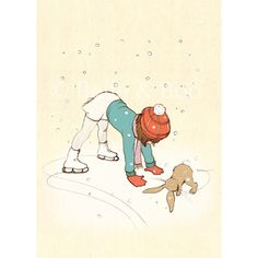 Just cant get enough of Belle and Boo. Love this Shall We Skate Art Print