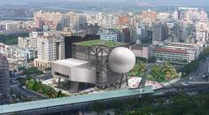 The OMA-designed Taipei Performing Arts Center (TPAC) tops out today. Consisting of three theatres plugged into a central cube, TPAC encourages Shenzhen Stock Exchange, A As Architecture, Creative Area, Rem Koolhaas, Walker Art, Van Gogh Museum, Inside Outside, Exhibition Space, Private Garden