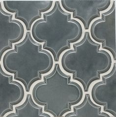 Beveled Arabesque Tile | Up In Smoke