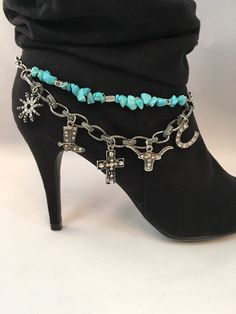 A personal favorite from my Etsy shop https://www.etsy.com/listing/270873818/boot-bracelet-boot-chains-boot-charms
