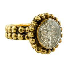 piccolo san benito magdalena ring - gold - $118