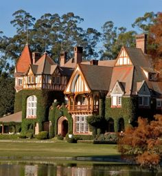 Estancia Villa Maria in Buenos Aires,Argentina Wonderful Places, Great Places, Beautiful Places, Places To Visit, Places Around The World, Around The Worlds, Art Nouveau Arquitectura, Chile, Costa Rica Travel