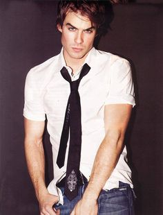Ian Somerhalder... I'm only pinning this for Kinley :)
