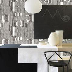 A DIY Approach to Marimekko Wallpaper — Curbly