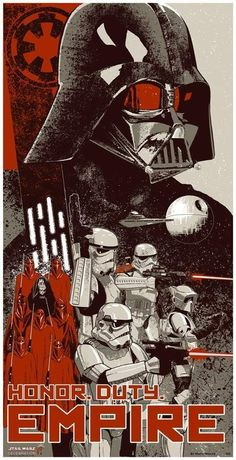 Эй гражданин! А ты готов стать добровольцем Имперской армии? Star Wars, арт, длиннопост