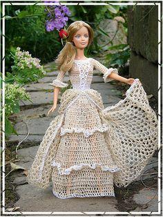 #barbie #doll #crochet #outfits [hanneton] 46.3.13 qw