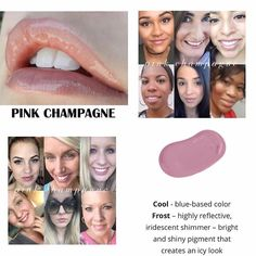 """0 Likes, 1 Comments - Melanie (@pouty2lips) on Instagram: """"Pink champagne coming in soon. Message me if you're interested #pinkchampagnelipsense"""""""
